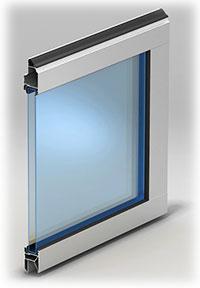 Панель с двойным акриловым остеклением Толщина–26 мм